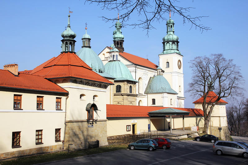 The kalwaria monastery royalty free stock image