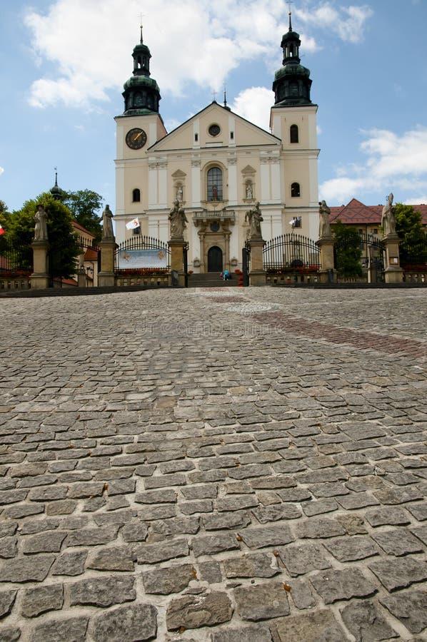 Kalwaria Zebrzydowska -波兰的圣所 免版税库存图片