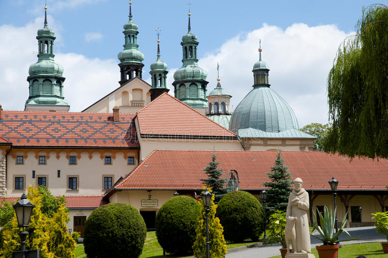 Kalwaria Zebrzydowska -波兰的圣所 免版税图库摄影