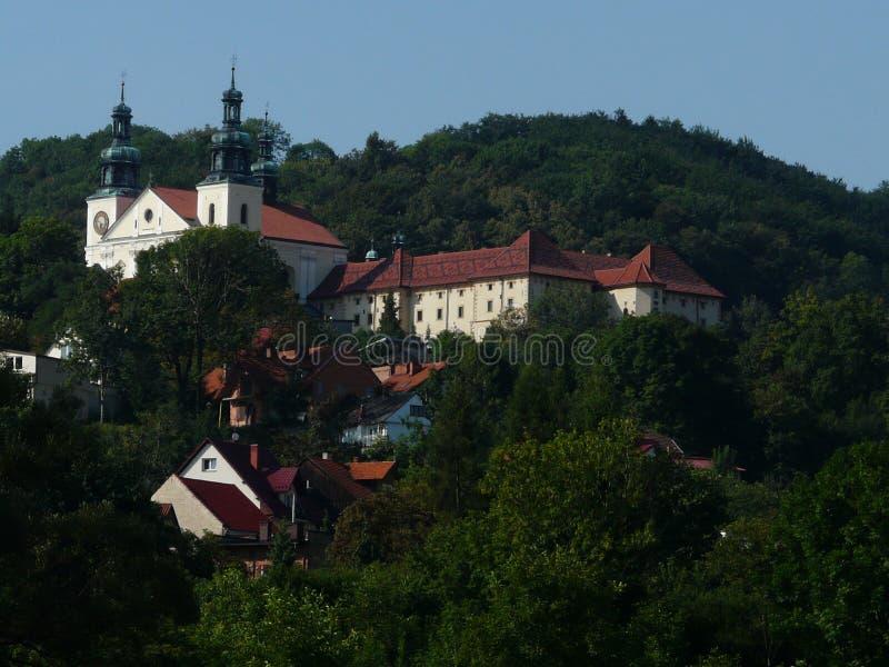 KALWARIA ZEBRZYDOWSKA-POLAND-SANCTUARY royaltyfri fotografi