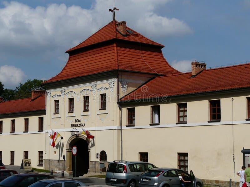 KALWARIA ZEBRZYDOWSKA-POLAND-SANCTUARY arkivfoto