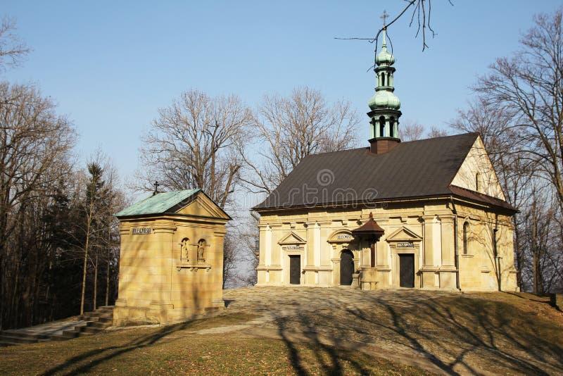 Kalwarii kaplicy obraz stock