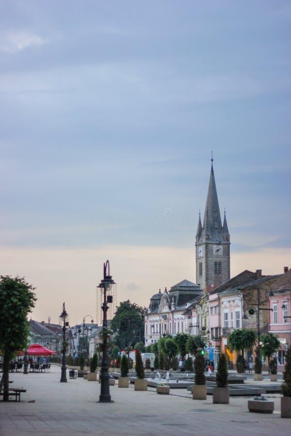 Kalwinu kościół w Turda, Cluj okręg administracyjny, Rumunia zdjęcia royalty free