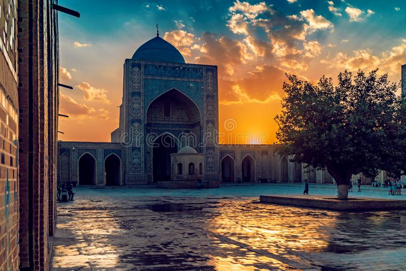 kalyan Bukhara meczet obraz stock