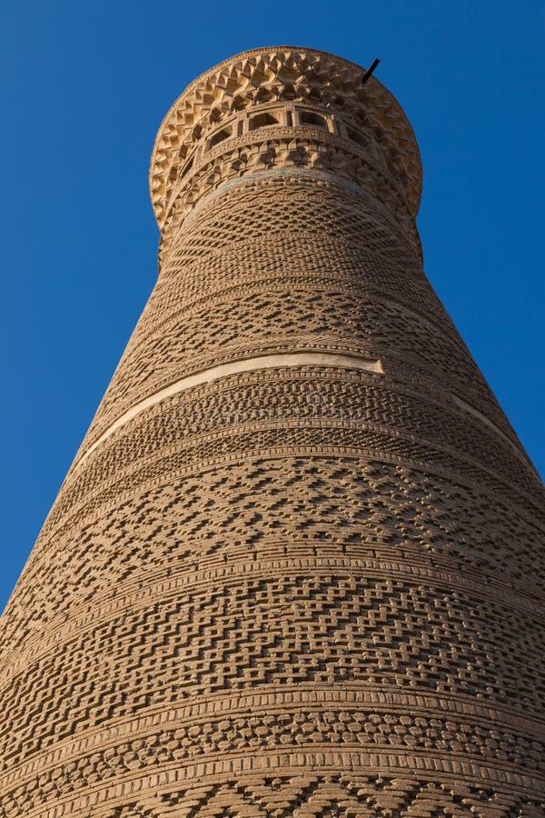 Kalyan meczet w Bukhara i minaret, Uzbekistan obrazy royalty free