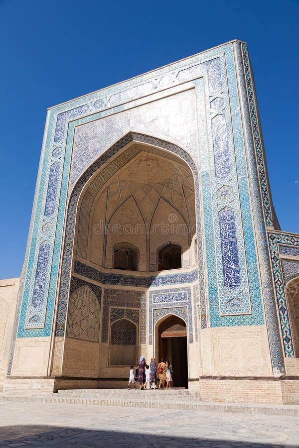 Kalyan meczet w Bukhara i minaret, Uzbekistan zdjęcie royalty free