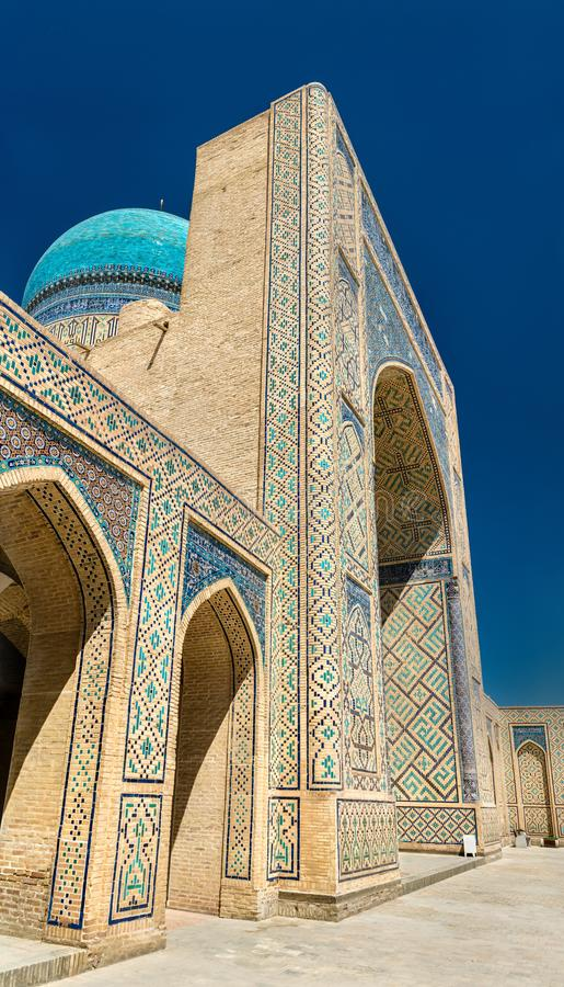 Kalyan meczet w Bukhara, Uzbekistan zdjęcie stock
