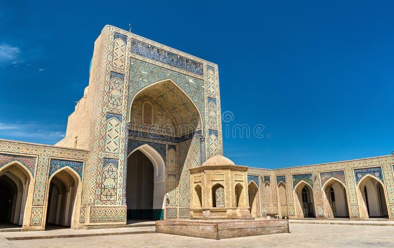 Kalyan meczet w Bukhara, Uzbekistan obrazy stock