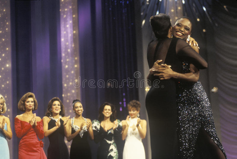 Kalyin Chapman, senhorita America Pageant 1994, Atlantic City, New-jersey imagens de stock royalty free