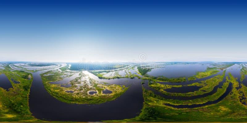 Kama-Fluss stockbild