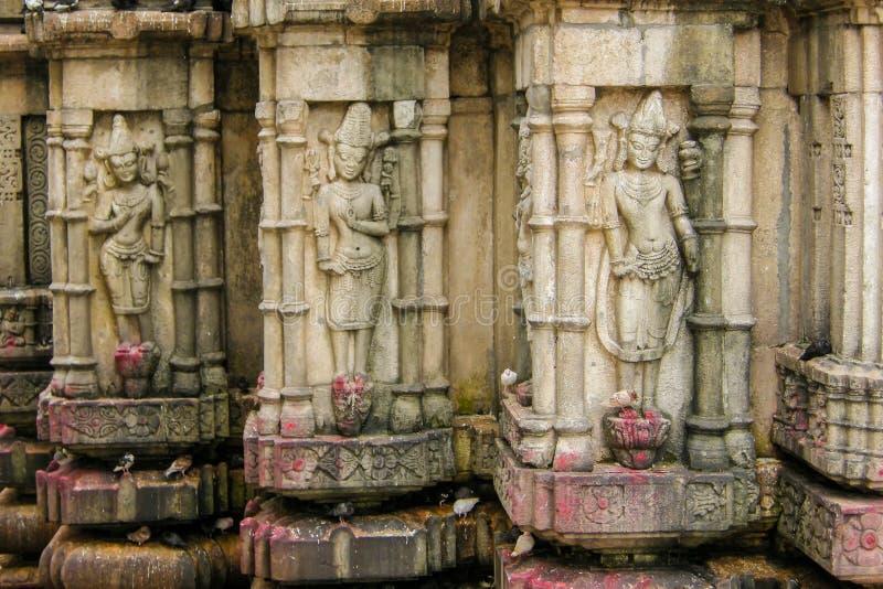 Kamakhya寺庙,高哈蒂,阿萨姆邦看法  免版税库存照片
