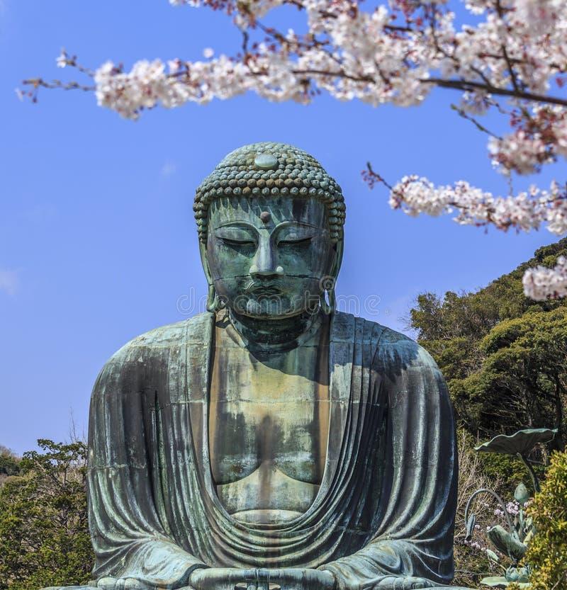 Kamakura Daibutsu 1 stock foto's