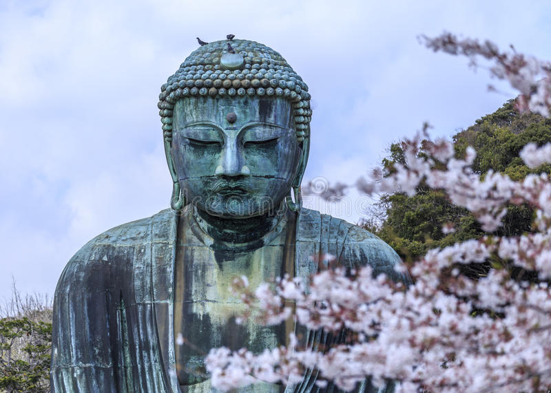 Kamakura Daibutsu 2 stock afbeelding
