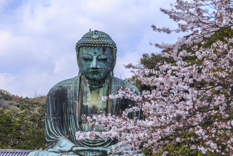 Kamakura Daibutsu 4 stock fotografie