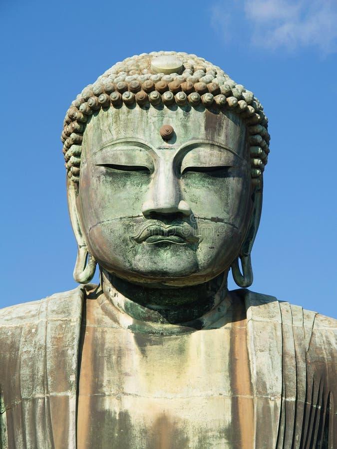 Kamakura, große Buddha-Statue lizenzfreie stockbilder