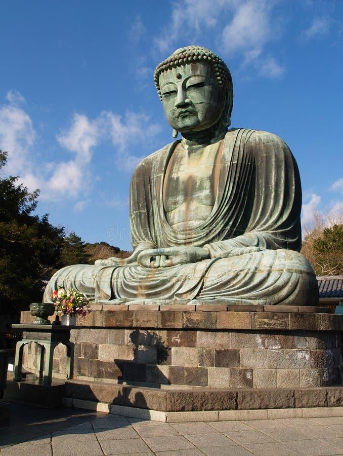 Kamakura, große Buddha-Statue stockbild