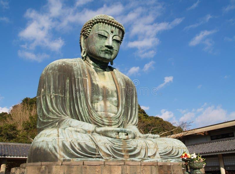 Kamakura, große Buddha-Statue stockfoto