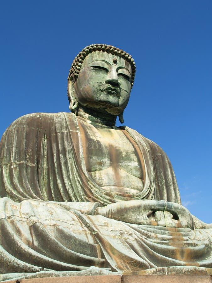 Kamakura, große Buddha-Statue stockfotografie