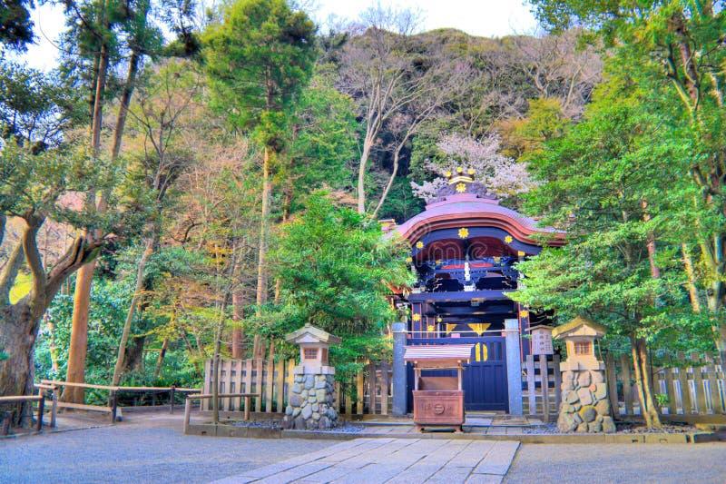 Kamakura-Schrein lizenzfreie stockbilder