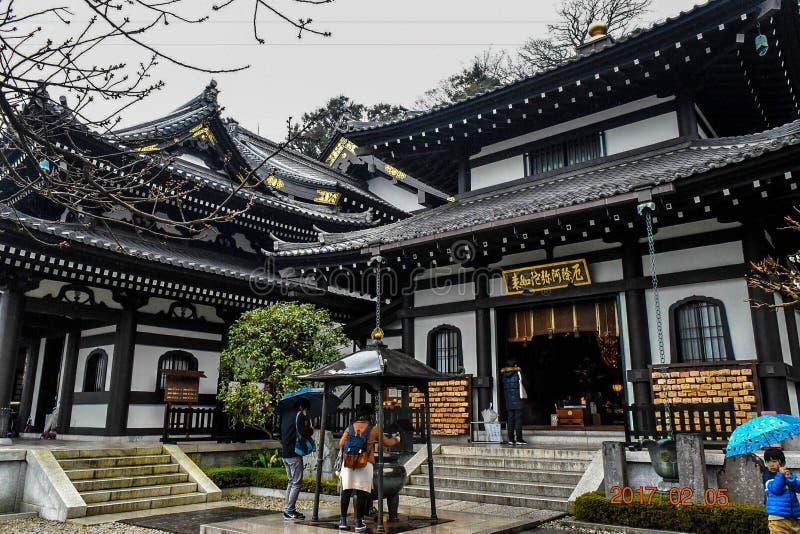 Kamakuratempel Japan stock fotografie