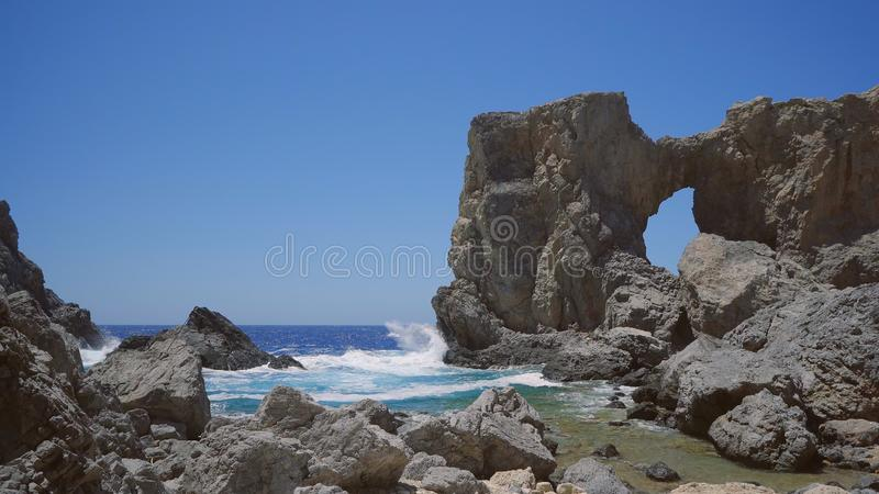 Kamarela Rocky Beach foto de stock
