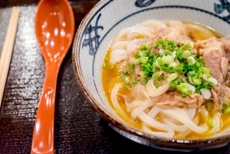Kamatama-Udon stock photo