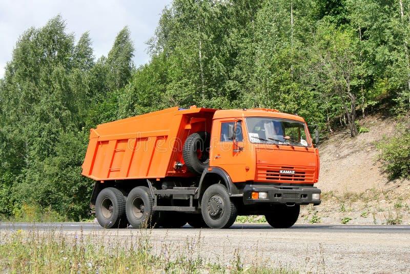 KAMAZ 65115 库存照片