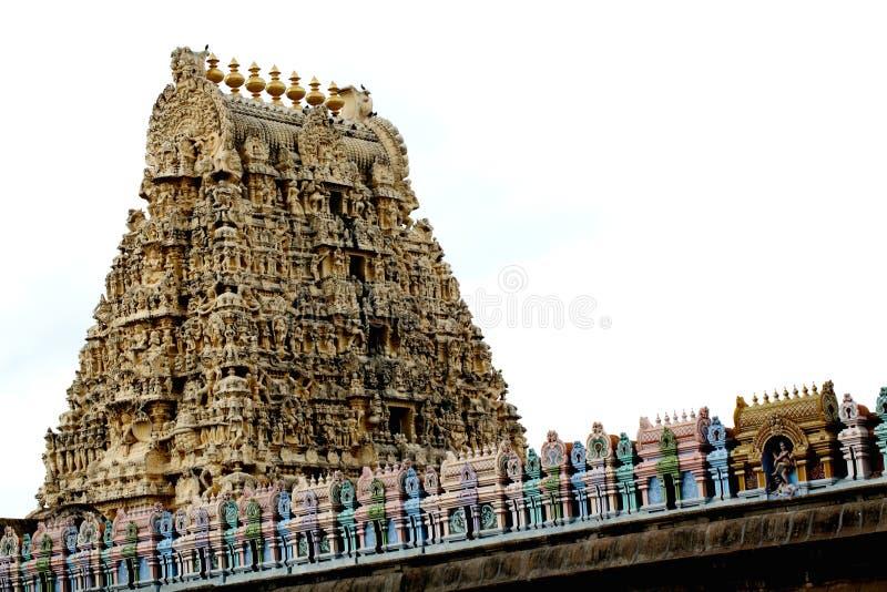 Kambareswarar temple tower,India stock photo