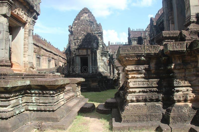 Kambodża Banteay Samre świątynia Siem Przeprowadza żniwa prowincję Siem Przeprowadza żniwa miasto zdjęcia royalty free