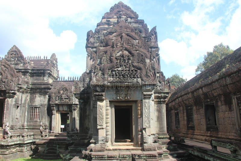 Kambodża Banteay Samre świątynia Siem Przeprowadza żniwa prowincję Siem Przeprowadza żniwa miasto fotografia stock