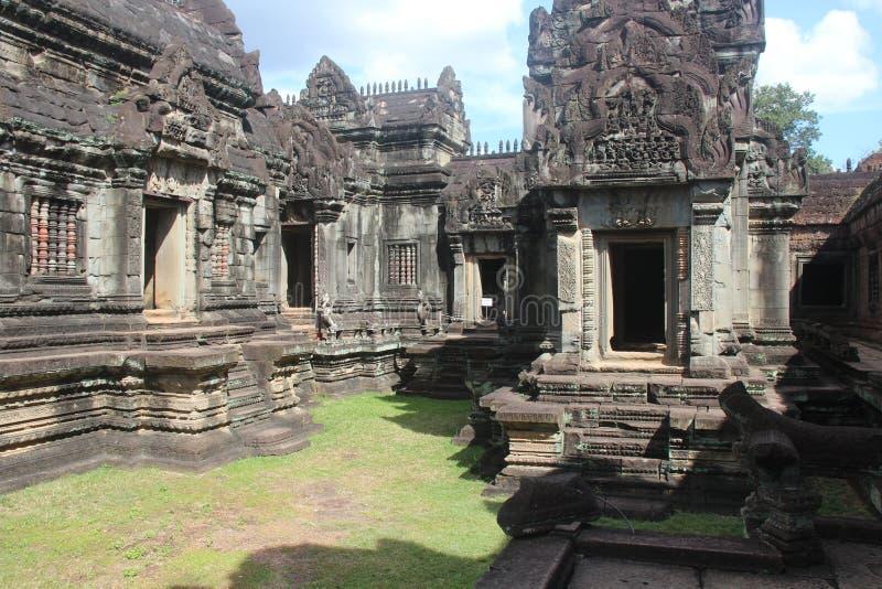 Kambodża Banteay Samre świątynia Siem Przeprowadza żniwa prowincję Siem Przeprowadza żniwa miasto fotografia royalty free