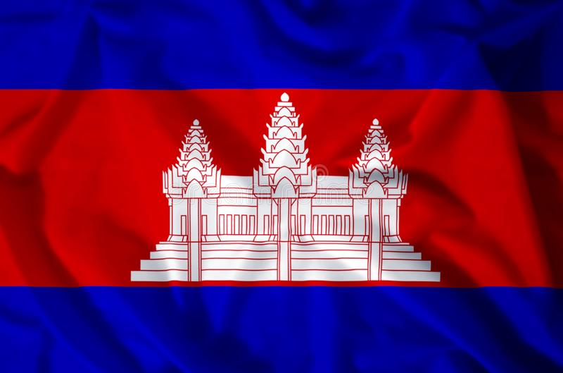 kambodja stock illustratie