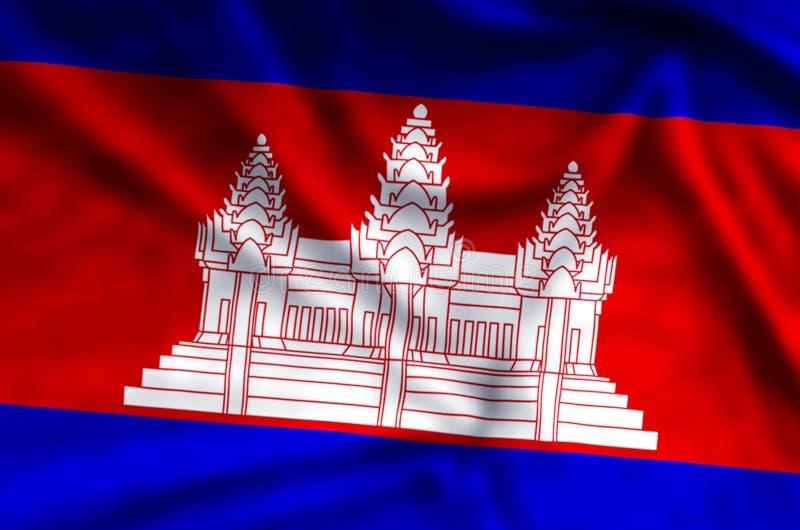kambodja royalty-vrije illustratie