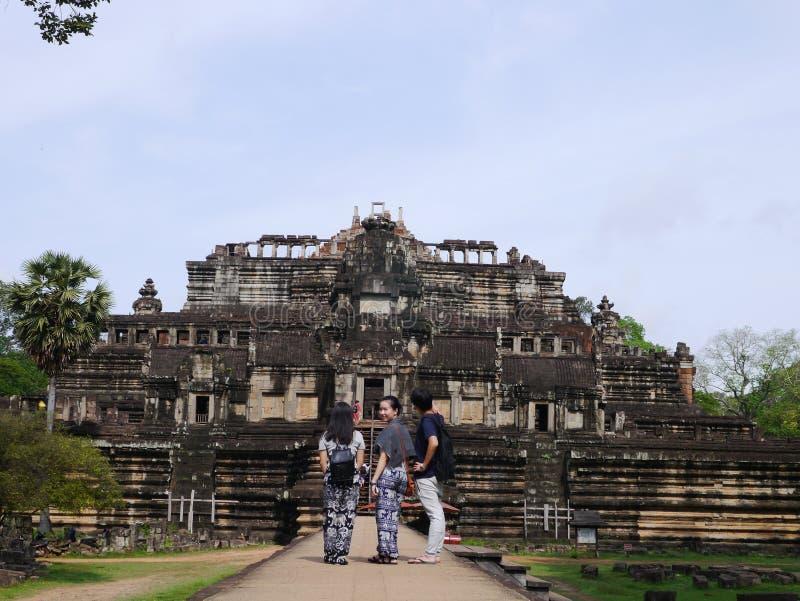 Kambodja, een geheimzinnig land royalty-vrije stock afbeelding
