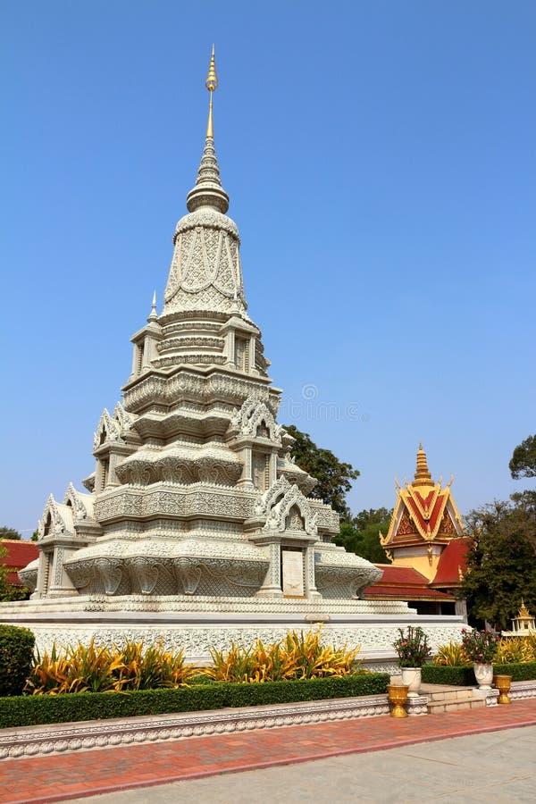 Kambodja Royal Palace royalty-vrije stock foto's