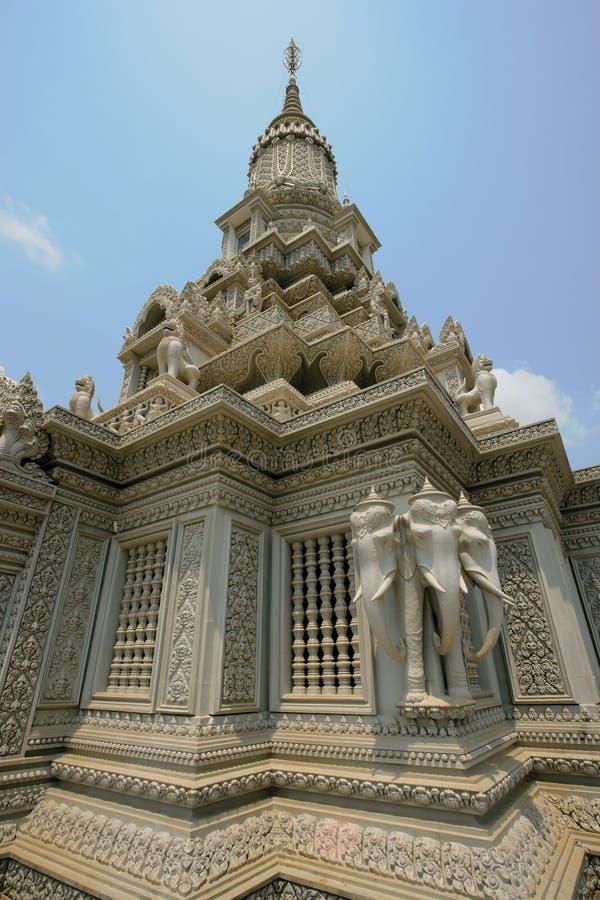 kambodjanskt tempel royaltyfri fotografi