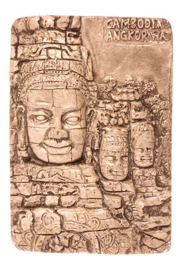 Kambodschanische Kunst getrennt stockbilder