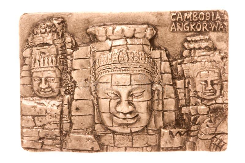 Kambodschanische Kunst getrennt lizenzfreies stockfoto