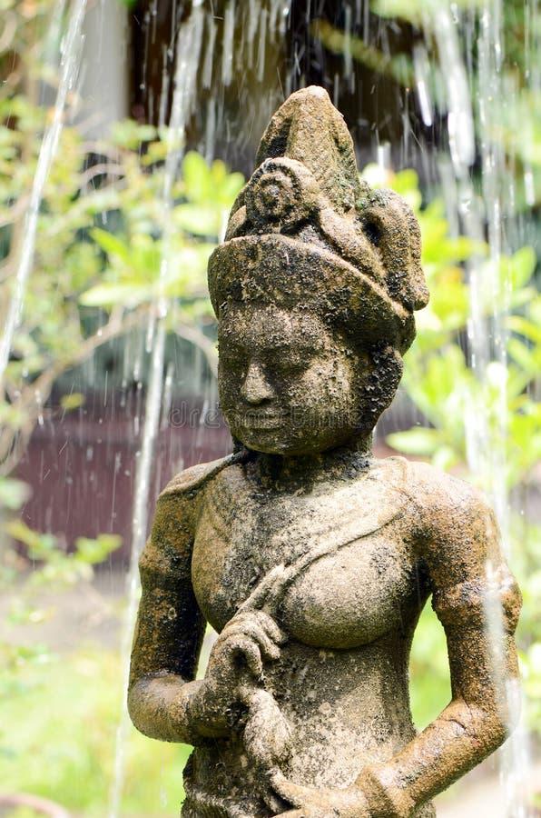 Kambodschanischer Gott. stockbild