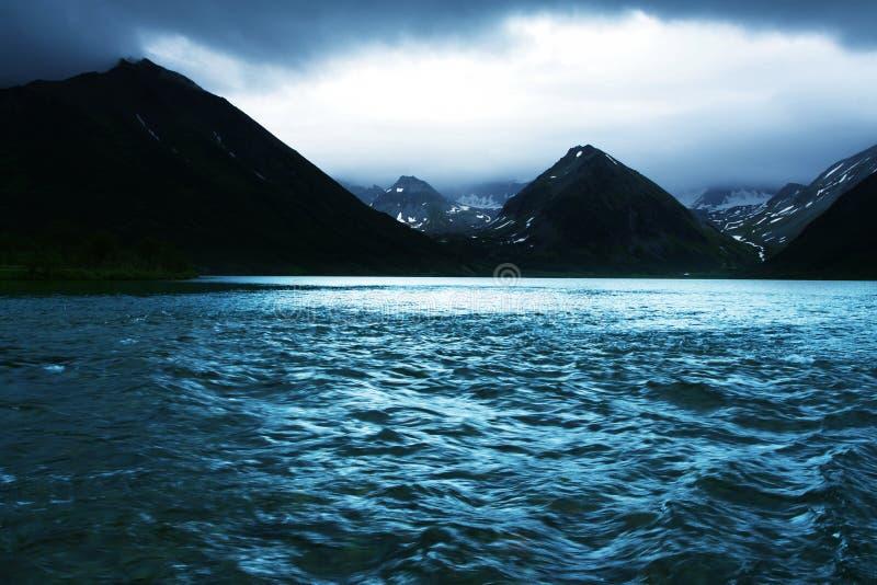 kamchatka lake arkivfoto
