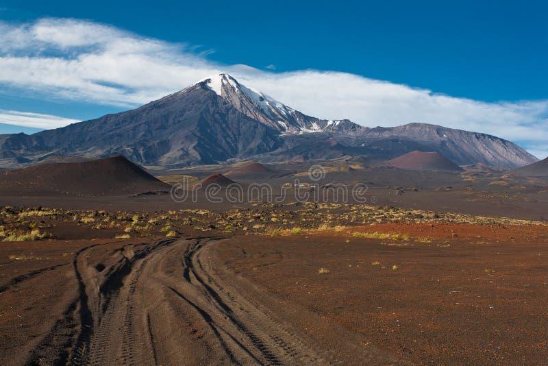 Kamchatka landskap. arkivfoton