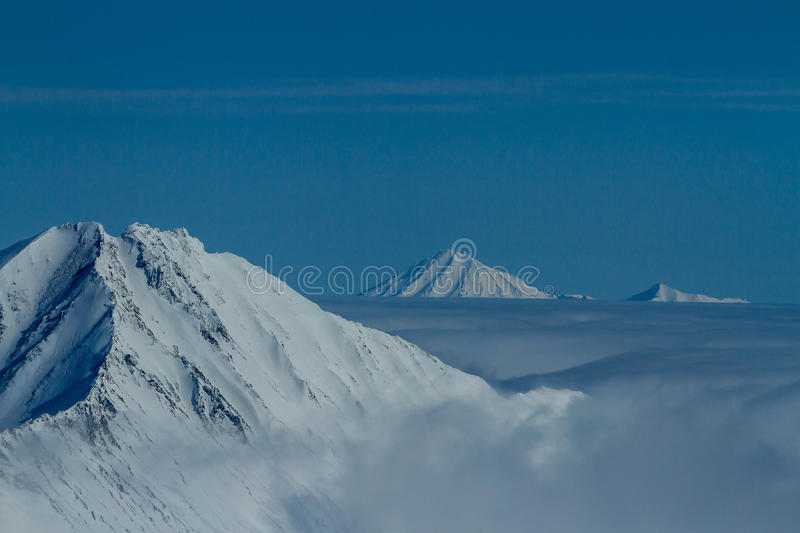 Download Kamchatka mountains stock photo. Image of hill, clouds - 33549994