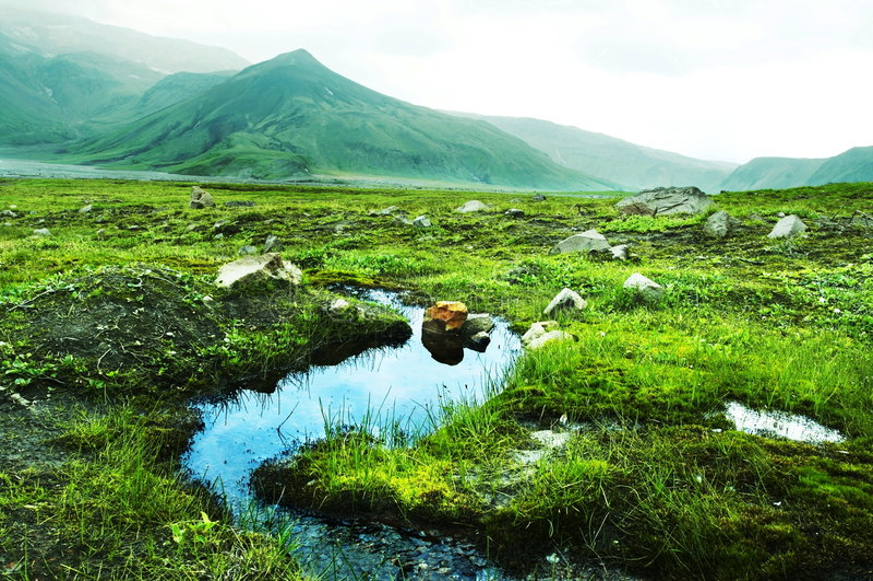 kamchatkian τοπία στοκ φωτογραφία με δικαίωμα ελεύθερης χρήσης