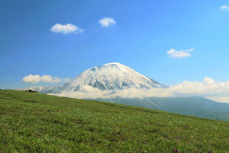 kamchatkian ландшафты стоковое изображение rf