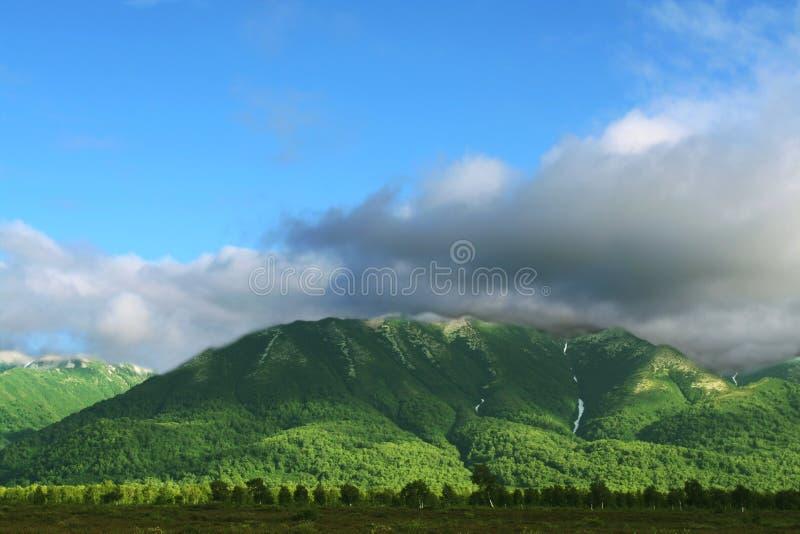 Kamchatkian Landschaften stockbild