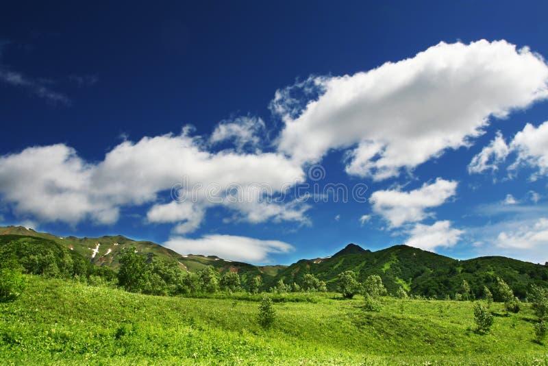 Kamchatkian Landschaften lizenzfreies stockbild