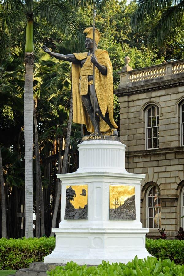kamehameha królewiątka statua zdjęcie stock