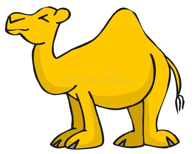 kamel royaltyfri illustrationer