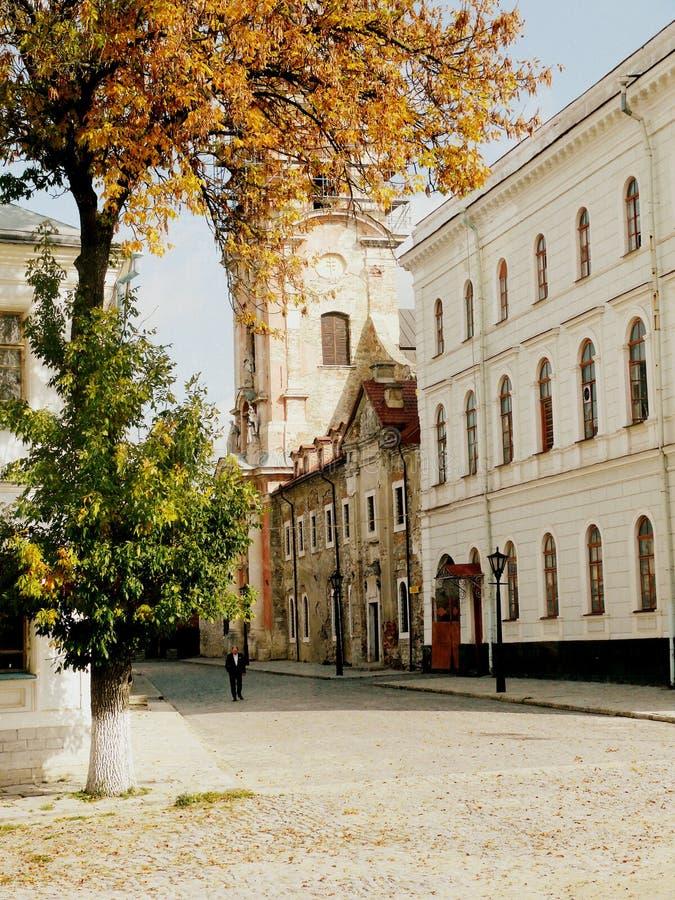 Kamenetz-Podolsk. City of Kamenetz - Podolsk. Ukraine royalty free stock photo