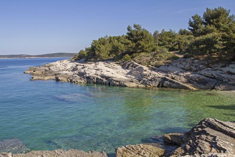 Kamenjak półwysep w Istria obrazy stock